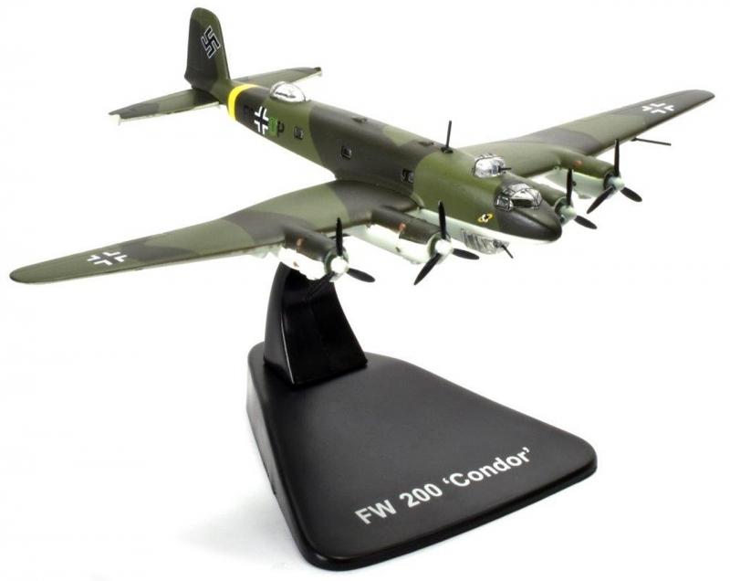 Focke Wulf FW 200 CONDOR - BOMBERS OF WWII