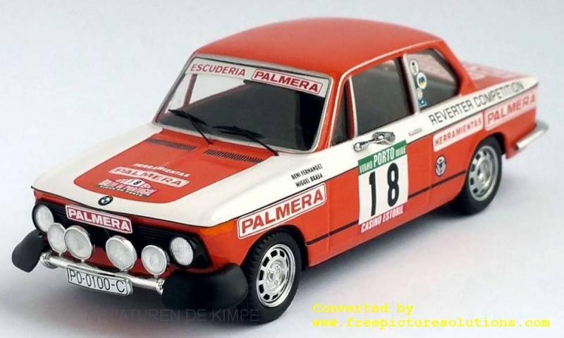 BMW 2002 Tii,Rallye Portugal,1976