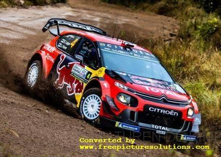Citroen C 3 WRC,Rally Chili 2019