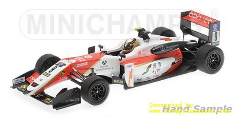 DALLARA MERCEDES F317 PREMA THEODORE RACING MICK SCHUMACHER MACAU GP 2018
