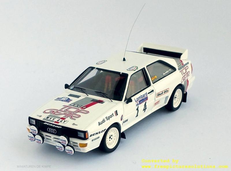 Audi Quattro,Top Gear,RAC Rallye 1984