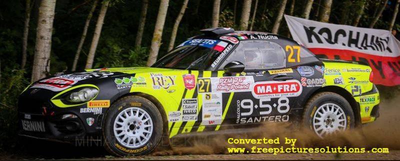 Fiat Abarth 124 RGT,Rallye Polen 2019