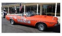 Dodge Challenger 1971 Convertible 55th Indianapolis 500 Mile Race Dodge Official Pace Car, with Orange Flags included
