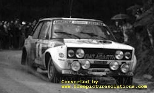 Fiat 131 Abarth,Rallye Portugal 1980