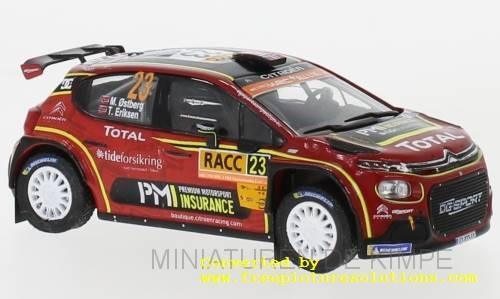 Citroen C3 R5,Rally Catalunya 2019