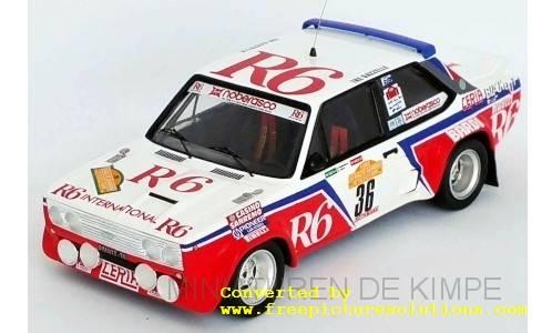Fiat 131 Abarth, R6,Rally San Remo 1982