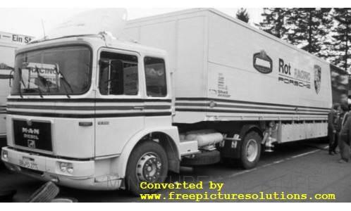 MAN Bussing, Rothmans-Porsche, Race Transport