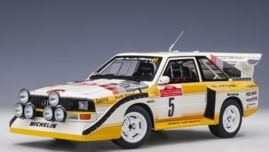 Audi Quattro S1 Rally San Remo 1985 Winnaar