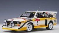 Audi Quattro S1 Rally San Remo 1985 vainqueur