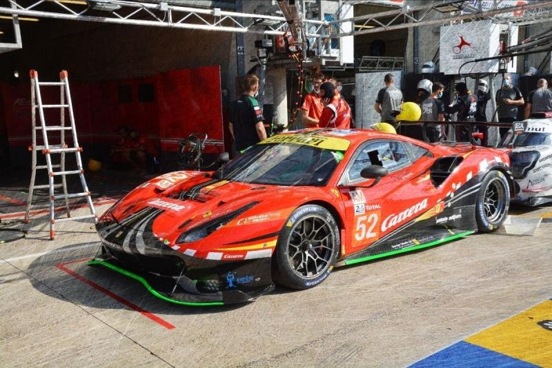 Ferrari 488 GTE EVO No.52 AF Corse 24u Le Mans 2020