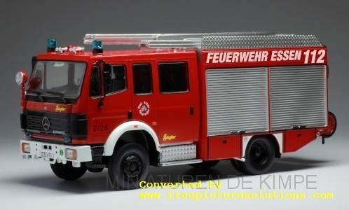 Mercedes LF 16-12, Feuerwehr Essen, 1995