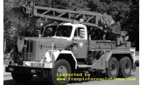 Magirus Uranus KW 16, Pompiers Frankfurt 1959