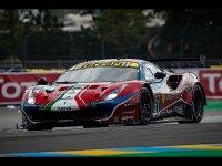 Ferrari 488 LM GTE PRO Team AF Corse 24H Le Mans 2020