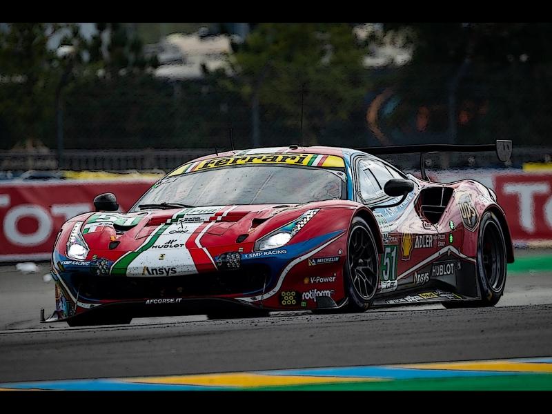 Ferrari 488 LM GTE PRO Team AF Corse 24u Le Mans 2020