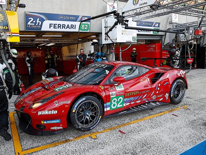 Ferrari 488LM GTE PRO  Team RISI 24u Le Mans  2020