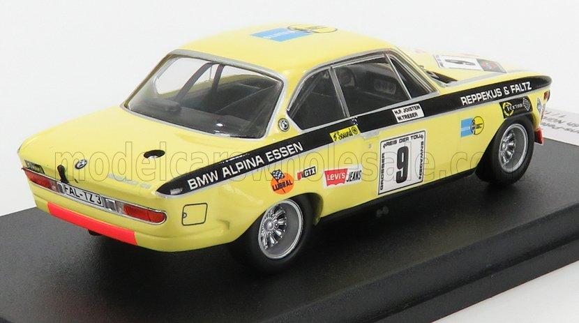 BMW 2800 CS 6u NURBURGRING 1971 nr9, H.P.JOISTEN -