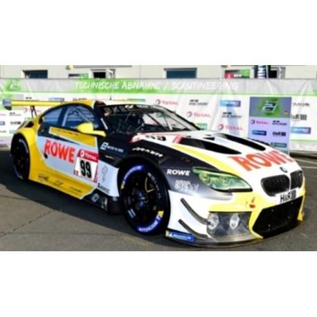 BMW M6 GT3 Nr99 ROWE RACING 1er 24u Nürburgring 2