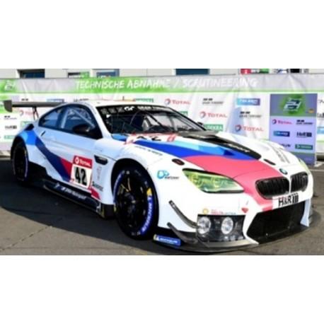 BMW M6 GT3 N°42 BMW Team Schnitzer 3ème 24H Nür