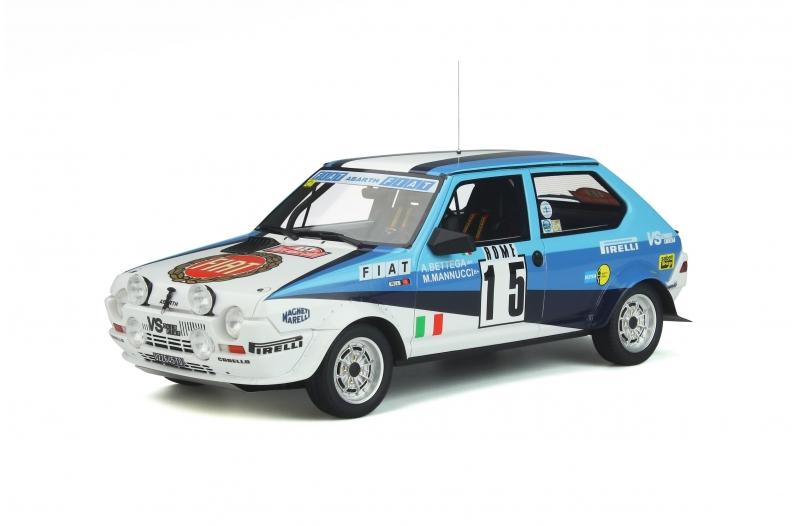 Fiat Ritmo Abarth Gr.2  nr15 Rallye Monte-Carlo 19