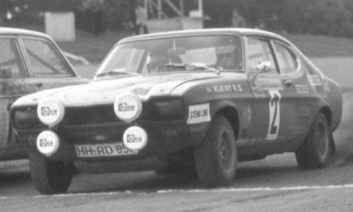 Ford Capri, No.2, Rally Baltic, W.Röhrl/J.Berger,