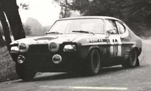 Ford Capri, No.10, Rajd Polski, W.Röhrl/J.Berger,