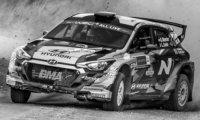 Hyundai i2 R5, No.36, WRC, Rallye Estonia, G.Munster/L.Louka, 2020