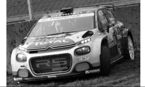 Citroen C3 R5, No.21, Rallye Monza, M.Ostberg/T.Er
