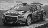 Citroen C3 R5, No.30, Rallye Monza, Y.Rossel/B.Fulcrand, 2020