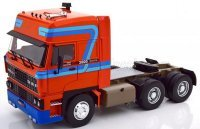 DAF 3600 SPACE CAB TRACTOR TRUCK 1982 rouge
