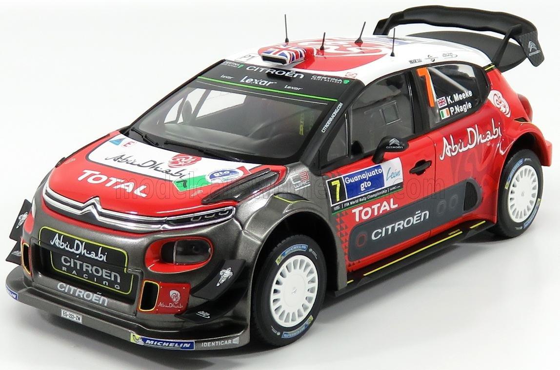 Citroen C3 WRC Winner Rallye Mexique 2017