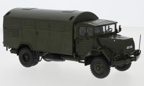MAN 630, Bundeswehr, Koffer-LKW