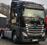 Mercedes Actros MP4, noir