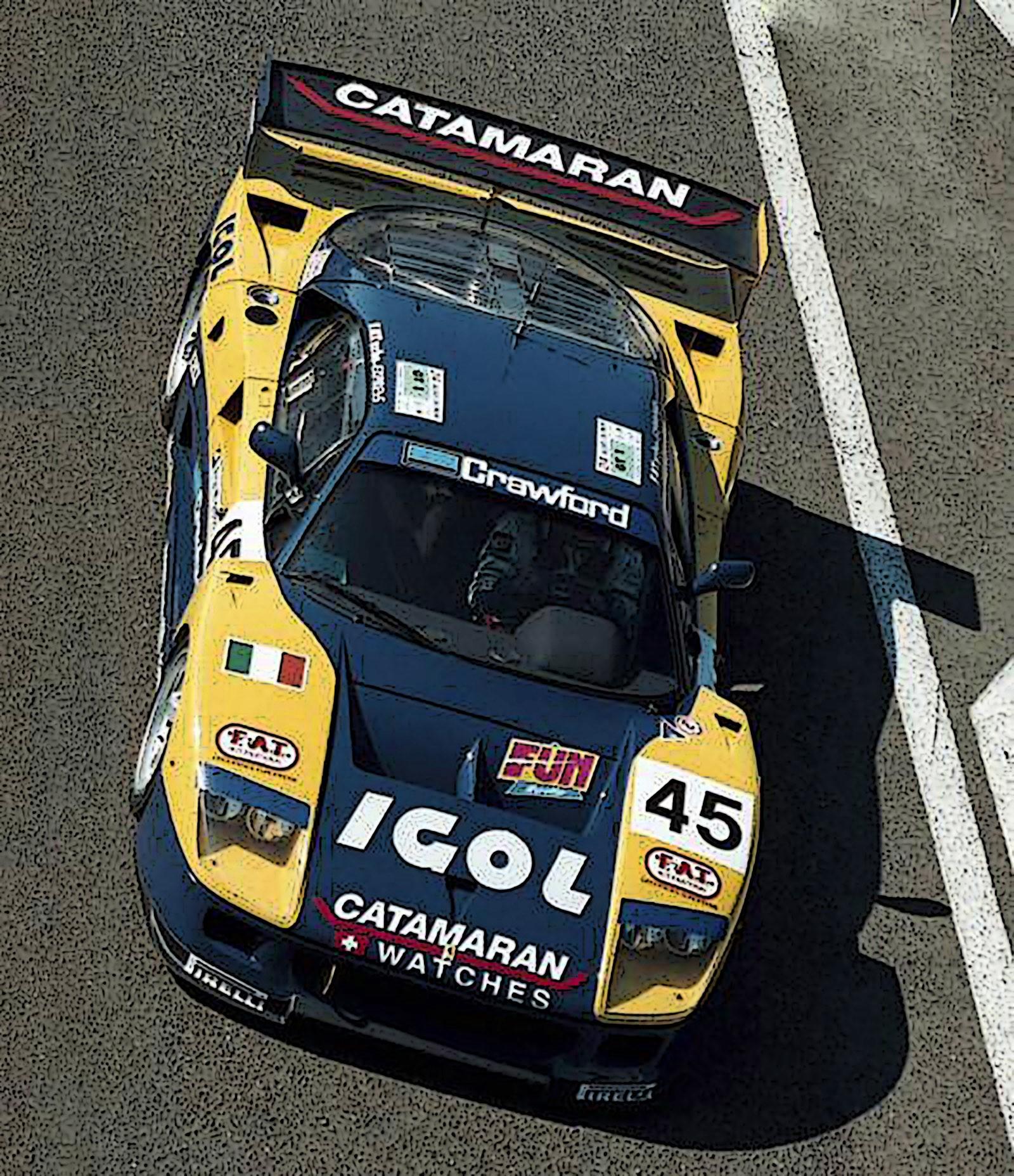 Ferrari F40 LM Le Mans 1996  TEAM ENNEA IGOL nr45