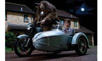Hagrids Motorcycle & Sidecar, Harry Potter