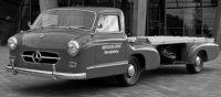 Mercedes RENNTRANSPORTER 'DAS BLAUE WUNDER' 1955