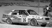 Skoda 130 LR nr16 KRECEK/MOTL RALLY SAN REMO 1986