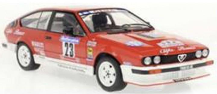 Alfa Romeo GTV 6 #23 LOUBET/VIEU TOUR DE CORSE 198