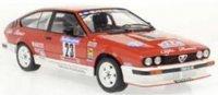 Alfa Romeo GTV 6 #23 LOUBET/VIEU TOUR DE CORSE 1985