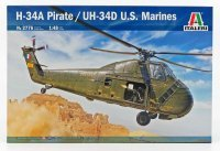 SIKORSKY UH-34D HELICOPTER U.S.A. MARINES 1974