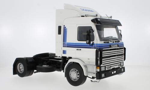 Scania 143 Topline, wit, 1987