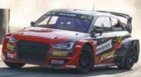 AUDI S1 WRX N°5 EKS AUDI SPORT WINNER RACE 6 WORLD RX LETTONIE 2020 MATTIAS EKSTRÖM