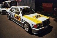 MERCEDES 190E 2.5-16 EVO 1 - TEAM MS-JET-RACING - JOERG VAN OMMEN - DTM 1990