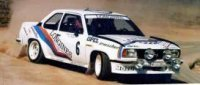 Opel Ascona 400 #6 Jean Pierre Balmer/Fabio Cavalli Rally Internazionale Della Lana 1982