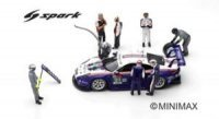 FIGUREN, Porsche 911 RSR Nr91 24H Le Mans 2018 Lietz, Bruni, Makowiecki