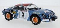 Renault Alpine A110, No.3, Tour de Corse, B.Darniche/A.Mahe, 1973