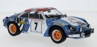 Renault Alpine A110, No.7, Tour de Corse, J-L.Therier/M.Callewaert, 1973