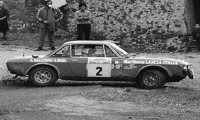 Lancia Fulvia 1600 Coupe HF, No.2, Rallye San Remo, A.Ballestrieri/A.Bernacchini, 1972