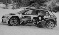 Skoda Fabia Rally 2 EVO, No.22, Rally Monte Carlo , M.Bulacia Wilkinson/M.Der Ohannesian, 2021