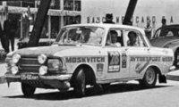 Moskwitsch 412, No.28, Rally London - Mexiko, L.Potapcikas/Y.Lesovskiy/E.Bazhenov, 1970