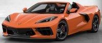 CHEVROLET CORVETTE C8 Cabriolet 2020 oranje